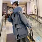 工裝外套 羽絨棉衣學生正韓寬鬆冬季工裝外...
