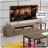 【水晶晶家具】科比6.5 尺煙燻橡木紋低甲醛木心板電視櫃 ZX8355-2