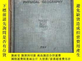 二手書博民逛書店PRINCIPLES罕見OF PHYSICAL GEOGRAPHYY3421 出版1930
