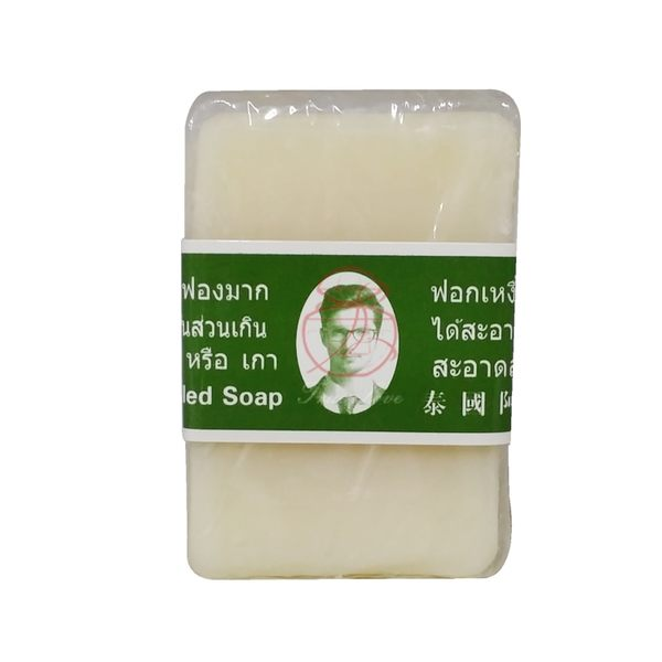 泰國 阿公二代精油香皂(方形) 100g±10g【岡山真愛香水化妝品批發館】