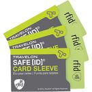 《TRAVELON》RFID防護卡套(灰...