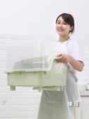 碗碟架 碗柜經濟型碗盤杯子瀝水架家用大透氣防塵放塑料廚房收納架JY【快速出貨】