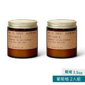 美國P.F. Candles CO.蠟燭3.5oz 2入組 葡萄柚