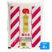 金農濁水米3KGX4【愛買】