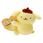 小禮堂 布丁狗 迷你絨毛玩偶 玩偶萬用夾 夾式玩偶 娃娃夾子 (黃 2021角色大賞) 4550337-60954