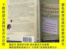 二手書博民逛書店The罕見Mindfulness Prescription fo