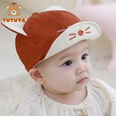 寶寶帽子春秋薄款鴨舌帽可愛超萌男女兒童棒球帽嬰兒帽子遮陽帽潮