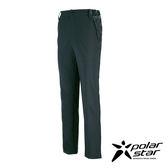 PolarStar 男 抗UV排汗彈性長褲 西裝褲│休閒褲│吸濕排汗│直筒褲│透氣休閒褲 -P17339 『暗灰』