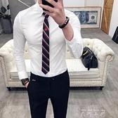 領帶男潮韓版男士正裝襯衫黑色領帶品牌高檔懶人結婚新郎拉鏈領帶 中秋節限時好禮