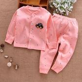 寶寶春秋裝套裝女0一1歲嬰幼兒衣服開衫七八九十個月純棉長袖長褲 森活雜貨