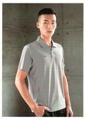 美津濃 MIZUNO 男短袖POLO衫 (灰) 32TA851509 吸濕快乾 合身版【 胖媛的店 】