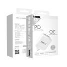 iMos PD3.0/QC3.0 雙孔閃電充電器(蘋果專用)