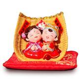【金石工坊】囍結緣-百年好合婚禮迷你擺飾(高4CM)-中國風 婚禮擺飾 結婚禮物 居家擺飾 桌上擺飾