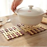 88柑仔店~1379竹制餐墊隔熱墊餐桌墊 方形 圓形碗墊 竹墊