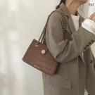 鍊條包 春大容量包包女2021新款潮高級感托特包百搭ins鏈條包斜挎包【快速出貨八折搶購】