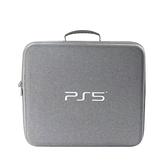 [哈GAME族]免運費 可刷卡 PS5 灰色 單肩收納包 主機配件收納包 大容量硬殼收納包