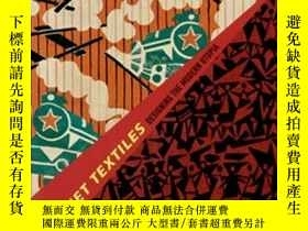 二手書博民逛書店Soviet罕見Textiles: Designing the