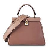 MICHAEL KORS 專櫃款氣質淑女手提斜背包-玫瑰粉