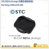 @3C 柑仔店@ STC ND16 (4-stop) 內置型濾鏡架組 for Sony a7SIII a7r4 a9II