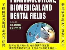 二手書博民逛書店Adhesion罕見in Pharmaceutical, Biomedical, and Dental Field