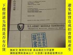 二手書博民逛書店U.S.罕見Army Missile Command 美國軍隊火