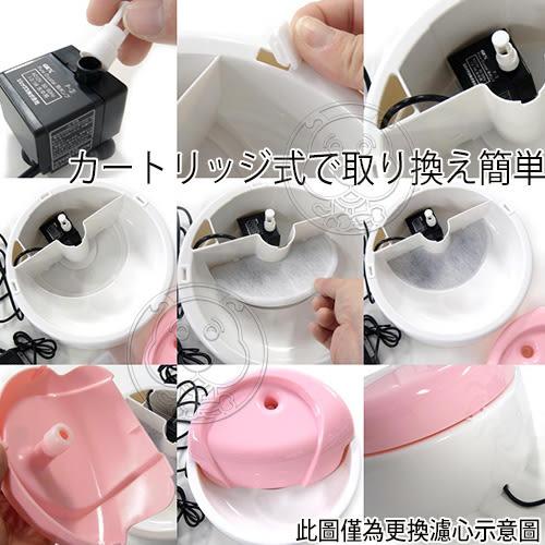 【培菓平價寵物網】日本GEX》幼犬|幼貓活性碳+水質軟化淨水濾材(1盒2入)半圓形替換濾芯濾棉