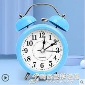 鬧鐘學生用卡通會說話小專用靜音床頭夜光鬧鈴兒童時鐘表聲音超大 時尚芭莎