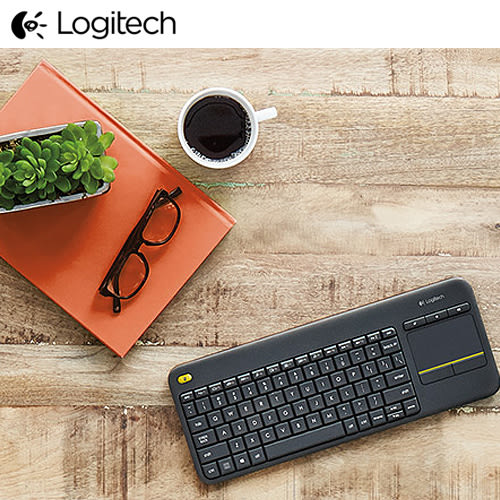 羅技 Wireless Touch Keyboard K400 Plus 無線觸控板鍵盤 Logitech