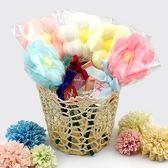 幸福婚禮小物❤可愛小花棒棒糖造型香皂❤迎賓禮/二次進場/活動小禮物/送客禮/香皂
