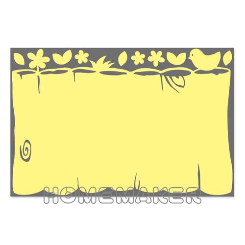 韓國白板貼紙_HS-BOGL04 (買一送一)