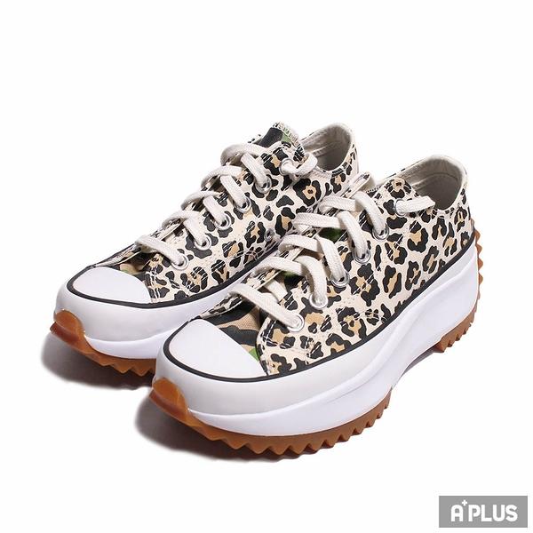 CONVERSE 女 帆布鞋(低統) RUN STAR HIKE OX DRIFTWOOD/LIGHT FAWN 厚底 舒適 豹紋-170912C