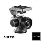 黑熊館 GITZO 捷信 GH2750 2號鎂合金側向球型雲台 承重5kg 全景 360 1/4 相機 三腳架