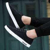 2018春秋季小白鞋帆布鞋休閒鞋透氣板鞋