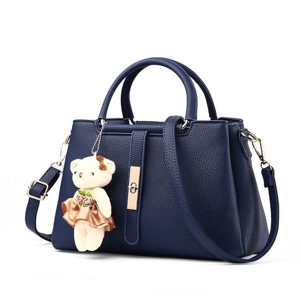 斜背手提包 韓版女側背包《印象精品》b1081