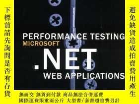 二手書博民逛書店Performance罕見Testing Microsoft .