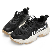 PLAYBOY RetroII 兔兔老爹鞋-黑(Y5725黑)