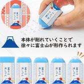 【京之物語】日本製PLUS AIR IN 富士山造型橡皮擦 富士山 擦布 現貨