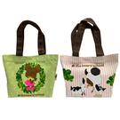【日本正版】小小熊學校 帆布 手提袋 便當袋 午餐袋 The Bears' School 430634 430641