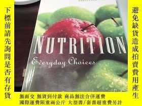 二手書博民逛書店Nutrition罕見Everyday Choices 營養 日常 選擇 保證 英語原版 照片實拍 便宜Y25