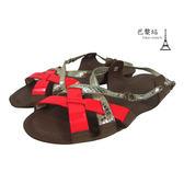 【巴黎站二手名牌專賣店】*現貨*Christian Dior 真品*螢光橘x銀色涼鞋 (35.5號)