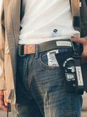 工裝 褲復古褲帶個性男士皮帶牛仔褲帆布腰帶 街頭布衣