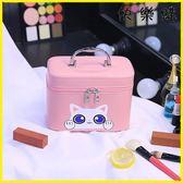 化妝包 化妝包大容量可愛便攜小號收納盒化妝箱