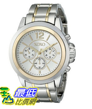 [美國直購] 女錶 XOXO Women s XO5586 Two-Tone Bracelet Watch
