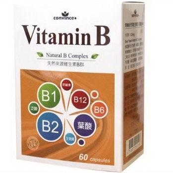 欣康喬-萊樂美天然維生素B群 三盒一組