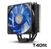 新竹【超人3C】保銳 T40-Fit 不干涉CPU風扇 黑蝠版 ETS-T40F-BK