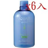 阿葵亞 瞬間柔順髮液 補充瓶 380ml X6入
