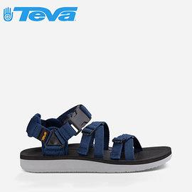 丹大戶外【TEVA】美國 男款 Alp Premier 經典設計織帶涼鞋 1015200 NAVY 海軍藍