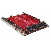Awesome Hardware RAID 2x M.2 SSD轉SATA 2.5吋7mm轉接盒  AWD-DT-128