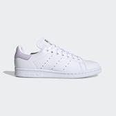 Adidas Stan Smith W [FU9634] 女鞋 運動 休閒 復古 經典 潮流 穿搭 三葉草 愛迪達 白紫