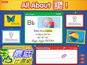 [106美國暢銷兒童軟體] Lakeshore All About Letters - Interactive Software